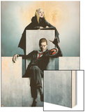Dark X-Men: The Beginning No3 Cover: Osborn  Norman and Emma Frost