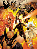 Astonishing X-Men No35: Storm  Cyclops  Armor  Beast  Wolverine  Frost