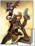 Astonishing X-Men No42 Cover: Kitty Pryde  Lockheed