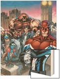 New Excalibur No1 Cover: Captain Britain  Juggernaut  Dazzler  Nocturne and New Excalibur