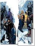X-Men: Regenesis No1 Cover: Professor X  Storm  Cyclops  Iceman  Wolverine  Magneto and Others