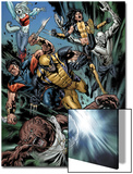 Uncanny X-Men No493 Group: Wolfsbane  Wolverine  X-23  Warpath  Hepsibah and Caliban