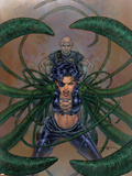 Excalibur No7 Cover: Callisto and Professor X