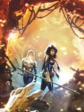 New Mutants No19 Cover: Moonstar Walking