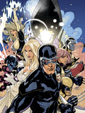 Uncanny X-Men No505 Cover: Cyclops  Emma Frost and Dazzler