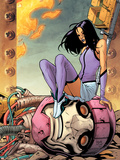 Ultimate X-Men No88 Cover: Psylocke and Sentinel