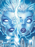 X-Men Forever 2 No13 Cover: Storm and Ro Posing