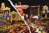 Dual Torn Posters Series - Vegas