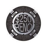 Pokerchip $250  2015