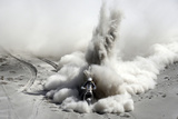 South Africa's Van Niekerk Rides His Ktm During the 5th Stage of the Dakar Rally 2013 from Arequipa