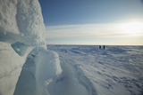 2011 Applied Physics Laboratory Ice Station Participants Walk across Arctic Ice  Alaska