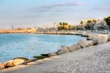 Embankment of Bari Italy Hdr