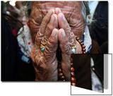 A Tibetan Exile Weeps