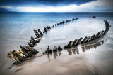 The Sunbeam Ship Wreck on the Beach in Co Kerry  Ireland
