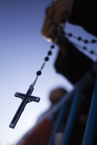 A Cross Is Seen During a Catholic Mass in Favour of the Traditional Family Unit in Central Madrid