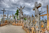 Hill of Crosses in Lithuania Hdr