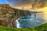 Cliffs of Moher at Sunset  Co Clare  Ireland