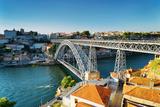 The Dom Luis Bridge in Porto  Portugal