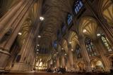 Interior of St Patrick's Cathedral  Manhattan