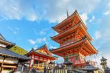 Three-Storied Pagoda at Kiyomizu-Dera in Kyoto