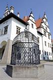 Levoca  Slovakia: Cage of Shame