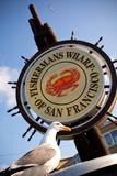 Fishermans Wharf Sign - San Francisco  California USA