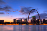 View of the Gateway Arch - St Louis  Missouri