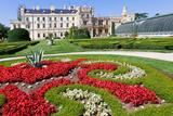 Baroque Castle Lednice Unesco  South Moravia  Czech Republic