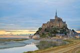 Mont Saint Michel at Sunset   France