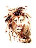 Lion Reproduction d'art par Okalinichenko