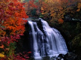 Brandywine Falls in the Cuyahoga National Recreation Area  Ohio