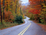 Hollywood Rd at Route 28  Adirondack Mountains  NY