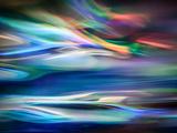 Lagon bleu Aluminium par Ursula Abresch
