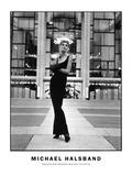 High Fashion Model Metropolitain Opera House  New York City