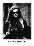 High Fashion Model  Alley New York City 1987