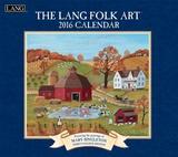 Lang Folk Art - 2016 Calendar
