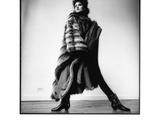 Fashion Photograph with Furs No 1  New York City 1983