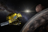 New Horizons Space Probe - Pluto Flyby in Action