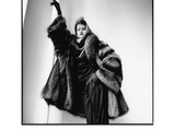 Fashion Photograph with Furs No 2  New York City 1983