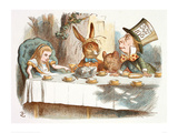 The Mad Hatter's Tea Party  1890 (Col Version 1)