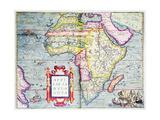 Africae Tabvla Nova  1570