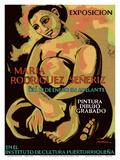 Exposicion (Exhibition) of Puerto Rican Artist Maria Rodriguez Señeriz