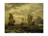 Whaling in Arctic Ocean  Circa 1665