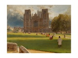 Wells Cathedral  1889