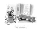 """You've achieved closure"" - New Yorker Cartoon"