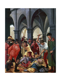 Martyrdom of St  Florian  1516  by Albrecht Altdorfer (1480-1538)  Germany  16th Century