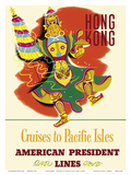 Hong Kong - Cruises to Pacific Isles - American President Lines