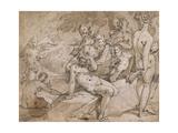 No3146 Diana and Callisto from Ovid's `Metamorphosis`  Ii  P442-53  C1595