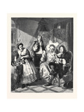 Le Malade Imaginaire  in the Royal Academy Exhibition 1861