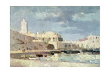 The Harbour at Algiers  1876